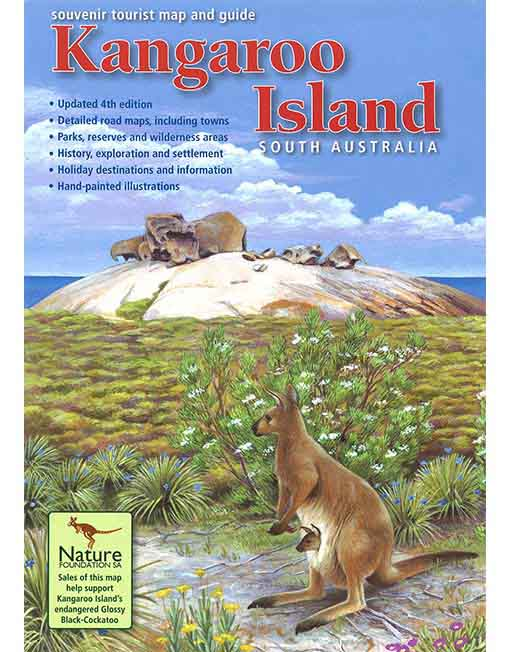 Kangaroo Island Map Kangaroo Island Map